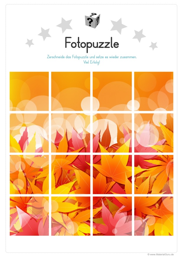Fotopuzzle Herbst
