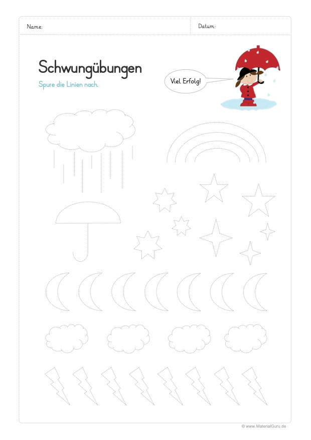 Amazing Wetter Arbeitsblatt Für Kindergarten Collection ...